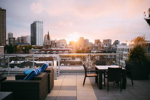 Indret din terrasse til den lækreste lounge